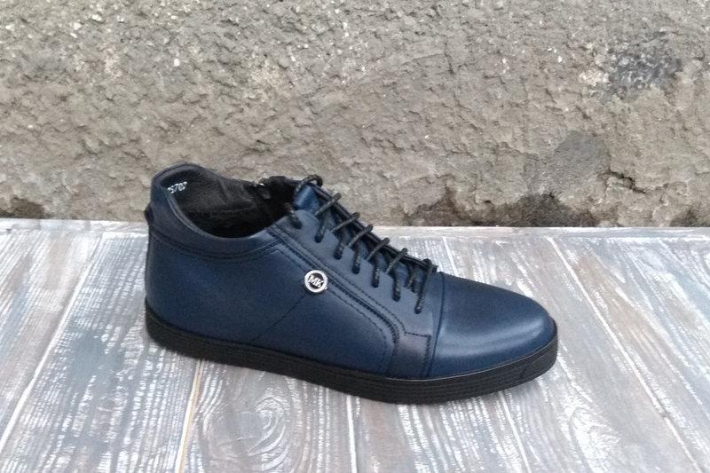 Чоловічі черевики VadRus сині - Магазин чоловічого взуття