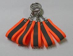 Брелок со световозвращающим элементом, фликер Оранжевый