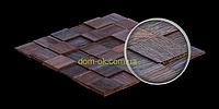 Мозаика деревянная из дуба 3D Tessera  * Tessera Ice