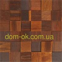 Мозаика деревянная из дуба 3D Tessera  * Термо дуб