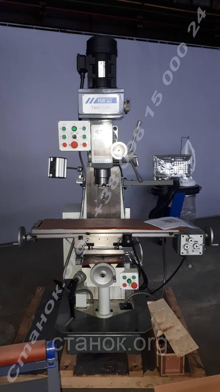 FDB Maschinen TMM 110 W широкоуниверсальный консольный горизонтально-вертикально-фрезерный станок по металлу