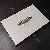 Меблева ручка з керамікою MAR 7456 096 F28 бронза, фото 3