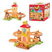 """Детский игровой Гараж """"Angry Birds"""" 168-103 АВ, птички 3 шт, в кор-ке, 25-27-22,5см"""