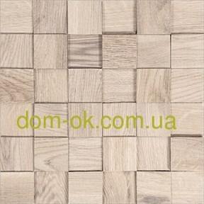 Мозаика деревянная из ясеня 3D Tessera  * Tessera White