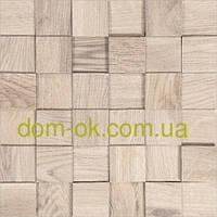 Мозаика деревянная из ясеня 3D Tessera  * Tessera White, фото 1