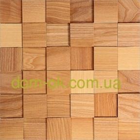 Мозаика деревянная из ясеня 3D Tessera  * Ясень  натуральный