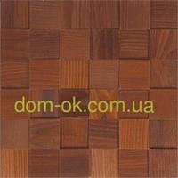 Мозаика деревянная из ясеня 3D Tessera  * Ясень термо брашированный, фото 1