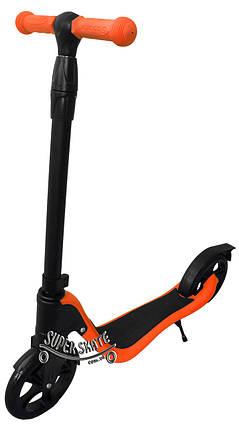 Самокат детский двухколесный Scooter Glob - Оранжевый, фото 2