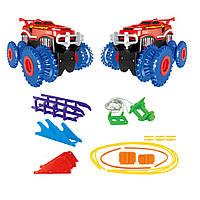 Игровой набор Trix Trux Monster Truk Канатный детский трек Монстер трак BB883