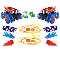 Игровой набор Trix Trux Monster Truk Канатный детский трек Монстер трак BB884