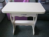 Кухонный стол Цезарь поворотно -раскладной+ящик