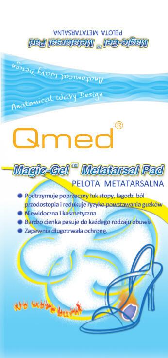 Гелеві подушечки у взуття Qmed Forefoot cushion I108
