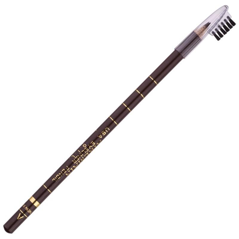 Косметичний олівець Airemain A, коричневий з вітаміном А і Е, водостійкий pro