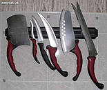Набор ножей Контур Про Contour Pro магнит. рейка, фото 3