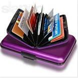 Алюминиевый бумажник - кейс для кредиток, фото 2