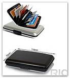Алюминиевый бумажник - кейс для кредиток, фото 3
