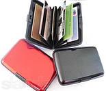 Алюминиевый бумажник - кейс для кредиток, фото 5