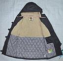 Куртка-парка еврозима для девочки Marta серая (QuadriFoglio, Польша), фото 6