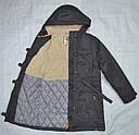 Куртка-парка еврозима для девочки Marta серая (QuadriFoglio, Польша), фото 5