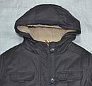 Куртка-парка еврозима для девочки Marta серая (QuadriFoglio, Польша), фото 2