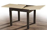 Стол Фаворит венге крем, обеденный раскладной слайдер, модерн