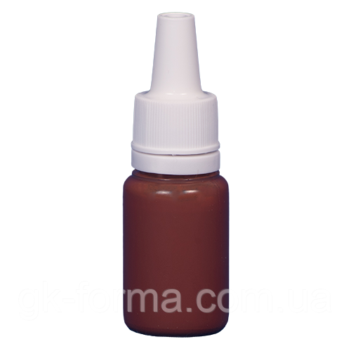 Краска JVR Revolution Kolor, burnt sienna #113,10 ml