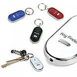 Брелок для поиска ключей и пультов управления QF-315 белый цвет с фонариком, фото 6