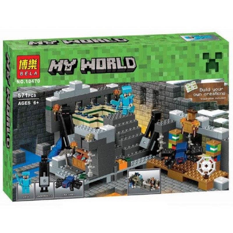 """Конструктор """"Портал в край"""" Bela Minecraft 10470 571 деталь"""