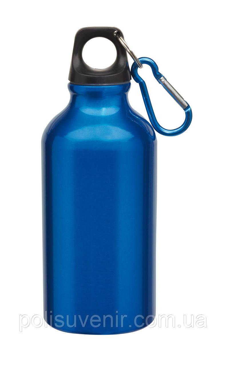 Алюмінієва пляшка з карабіном 400 мл
