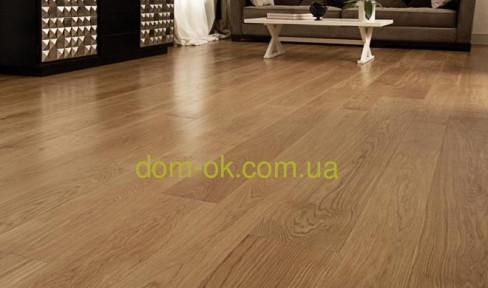 Массивная доска из дуба толщиной 24 мм с покрытием масло Osmo, ширина на выбор * ширина 120 мм