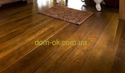 Массивная доска из дуба толщиной 24 мм с покрытием масло Osmo, ширина на выбор * ширина 140 мм