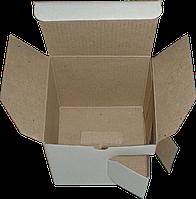 Коробка для чашки c окошком из гофрокартона
