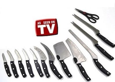 Набір ножів Miracle Blade (Мирэкл Блейд) 13 предметів