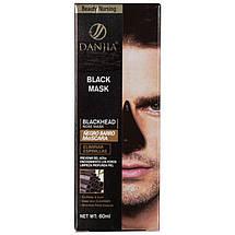 Маска для удаления черных точек Danjia bamboo charcoal 010 pro, фото 2