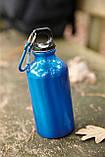 Алюмінієва пляшка з карабіном 400 мл, фото 8