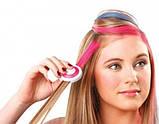 Кольорові крейди (пудра) для волосся Hot Huez, фото 2