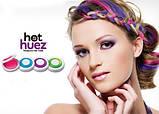 Кольорові крейди (пудра) для волосся Hot Huez, фото 4