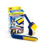 Валик для уборки Стики Бадди (Sticky Buddy) Reusable Sticky Picker, фото 3