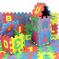 72pcs младенца дети мини EVA пены буквы алфавита номер коврик 3d головоломки образовательные игрушки 1TopShop