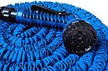 Удлиняющийся шланг для полива Magic Hose (Xhose) 37,5 метров , фото 3