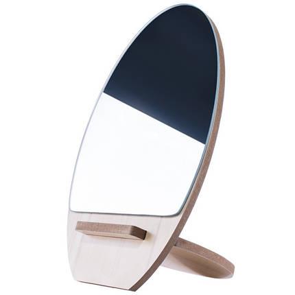Косметическое настольное зеркало Ri Zhuang R-58, деревянное pro, фото 2