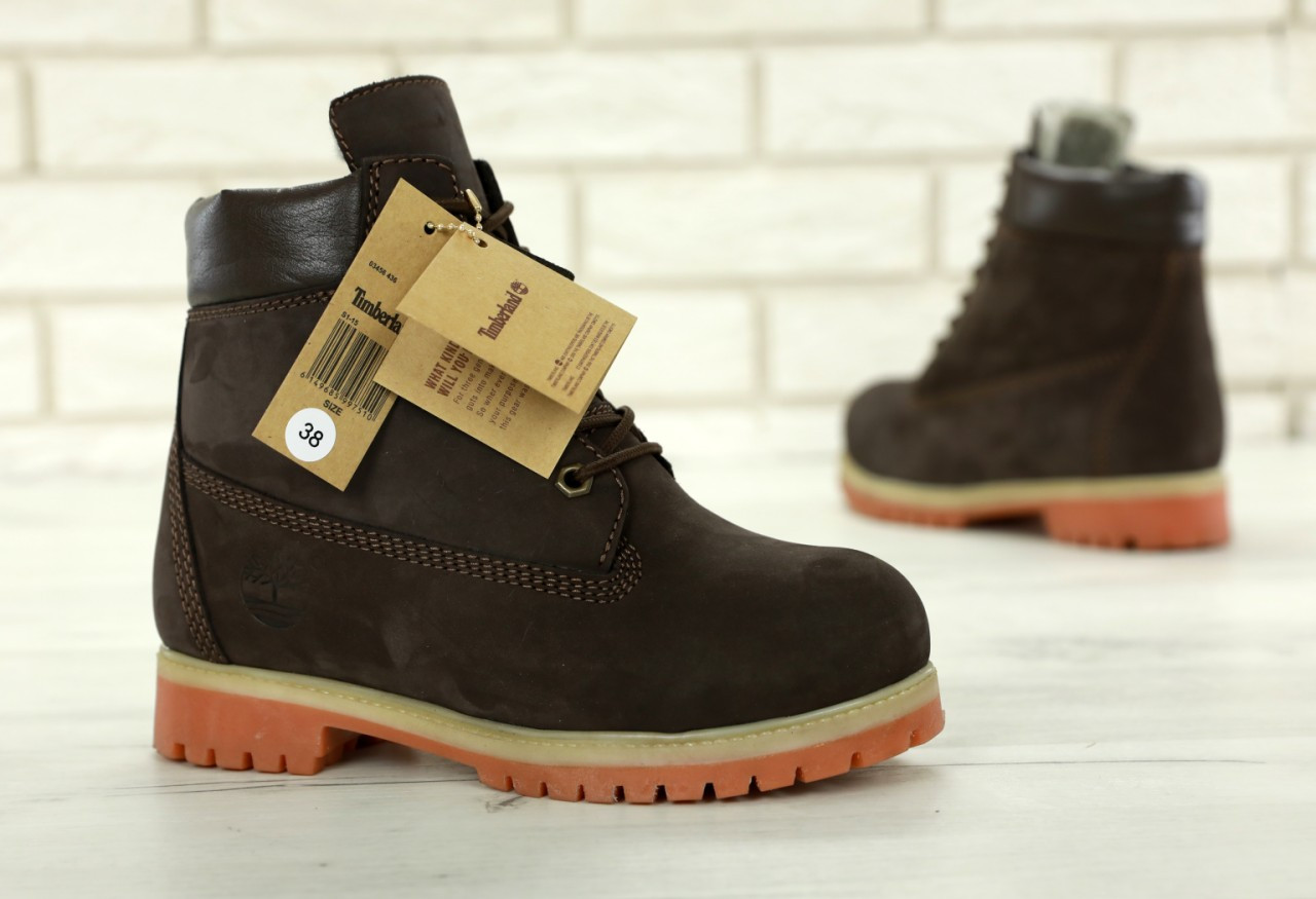 ... Timberland 6 inch Dark Brown Boots (с мехом)  09833084145c1