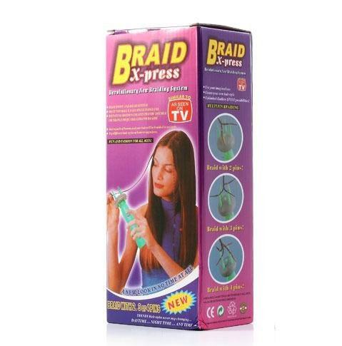 Інструмент для плетіння кісок «braid xpress»