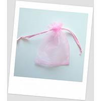 Мешочек из органзы (12 х 9 см), розовый. (id:700037)