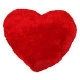 """Декоративная подушка в виде сердца """"Я тебя люблю"""", фото 2"""
