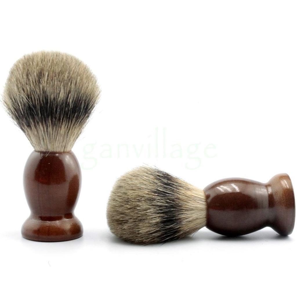 Помазок для бритья из дерева Shima с ворсом Барсука 01060
