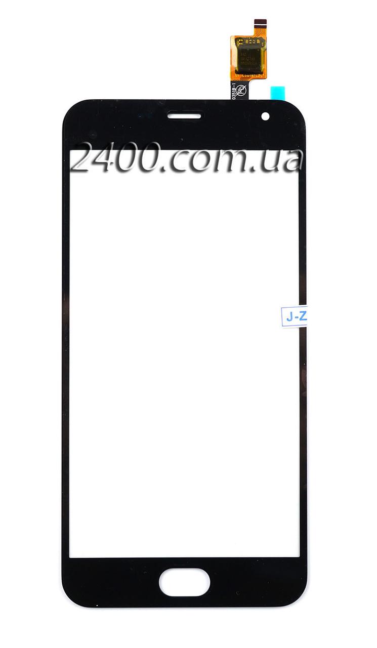Тачскрин Meizu M2 Mini  для телефона Мейзу М2 Mини (сенсор Meizu M2 Mini / M2) черный