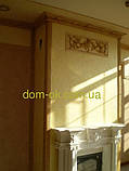1.50.110 Интерьерный полиуретановый карниз Европласт  гибкий, фото 3