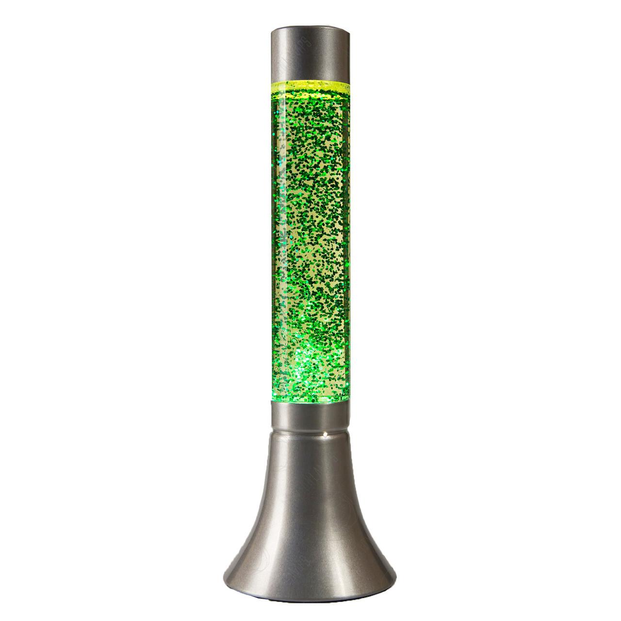 Лава лампа цилиндр с парафином 38 см