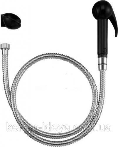 Гигиенический набор Jacob Delafon Е75089-СР чорный/хром